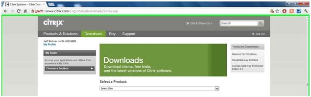 Click 'Downloads'.